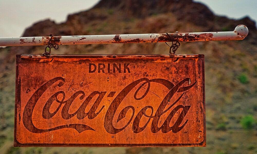 campaña publicidad coca-cola antigua